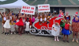 Helensville Christmas Parade Results