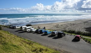 Vehicle access changes to Muriwai Beach during hot months